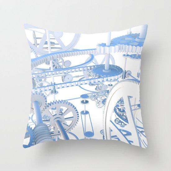 The Dream Machine Throw Pillow