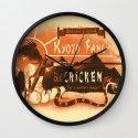 Kyoto Fang's Chicken Wall Clock