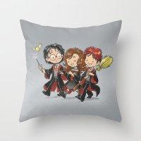 HP Gang Throw Pillow