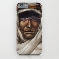 iPhone & iPod Case featuring Lawrence of Arabia by Nick Sadek Illustration