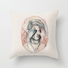 14/02 : Love is a blind Throw Pillow