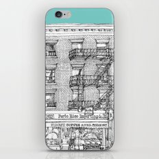 PORTO RICO IMPORT CO, NYC iPhone & iPod Skin
