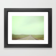 You'll get as far as you let yourself Framed Art Print