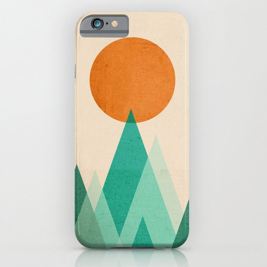 No mountains high enough iPhone & iPod Case