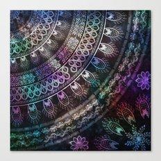 Galaxy Mandala Canvas Print