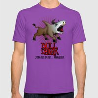Bull Shark Version 2 Ani… Mens Fitted Tee Ultraviolet SMALL