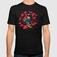 Help Fight Heroism Mens Fitted Tee Tri-Black SMALL