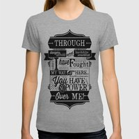 Labyrinth Quote You Have… Womens Fitted Tee Athletic Grey SMALL