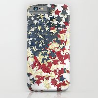 iPhone & iPod Case featuring EUA FLAG STARS by Msimioni