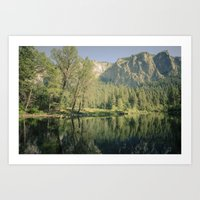 Merced River II Art Print