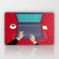 LOVE WORK Laptop & iPad Skin
