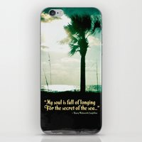 Secret of the sea iPhone & iPod Skin