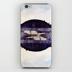 the look in your eyes from under away near breath (35mm multi exposure) iPhone & iPod Skin