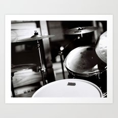 Drums Art Print