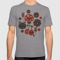 Kawaii Master Mens Fitted Tee Athletic Grey SMALL
