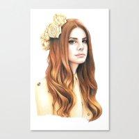 LDR Canvas Print