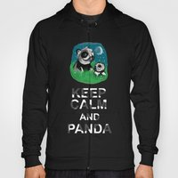 Keep Calm And Panda Hoody
