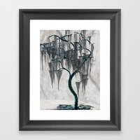 Jason's Willow Framed Art Print