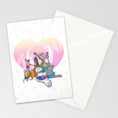 Sailor Kitties Stationery Cards