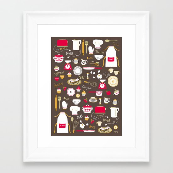 Teatime Treat Framed Art Print
