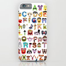 Sesame Street Alphabet iPhone 6 Slim Case