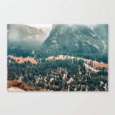 Yosemite Valley - Fall Colors Canvas Print