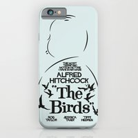 The Birds - Alfred Hitchcock Movie Poster iPhone 6 Slim Case