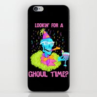 Lookin' For A Ghoul Time… iPhone & iPod Skin