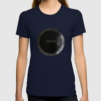 Ubiquity Womens Fitted Tee Navy SMALL