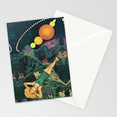 Midnight Sunbath Stationery Cards