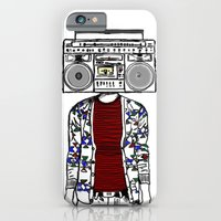 Radio daze iPhone 6 Slim Case