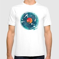 Sound of Water Mens Fitted Tee White SMALL
