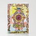 Mandala Woman Stationery Cards