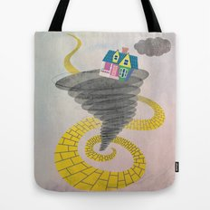 The Wizard of Up Tote Bag