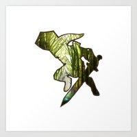 zelda Art Prints featuring ZELDA by Loris Ori