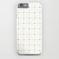 Mint Diamonds iPhone 6 Slim Case