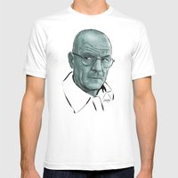 Heisenberg Blues Mens Fitted Tee White SMALL