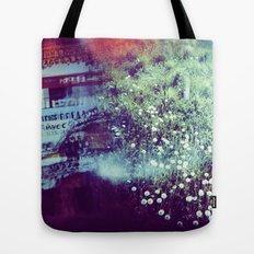 Holga Flowers V Tote Bag