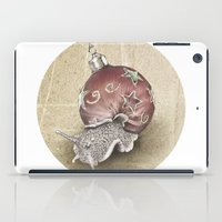 In which a snail is most festive this christmas  iPad Case
