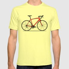 Specialized Racing Road Bike Mens Fitted Tee Lemon SMALL