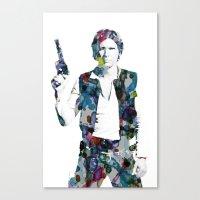 Han Solo Canvas Print