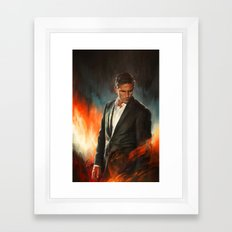 He Who Fights Monsters Framed Art Print