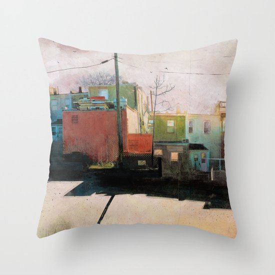 Charm City, MD Throw Pillow