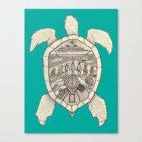 Galápagos Canvas Print