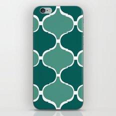 Marrakech Pattern Dark Green iPhone & iPod Skin