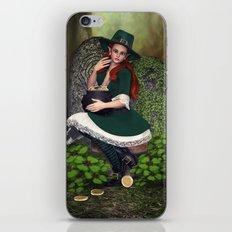 Leprechaun Lass iPhone & iPod Skin