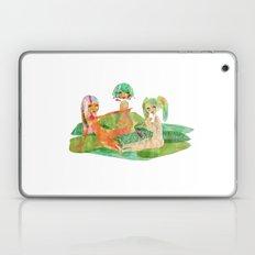 EAT MORE GREEN. Laptop & iPad Skin