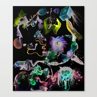 Cooperative Chaos Canvas Print