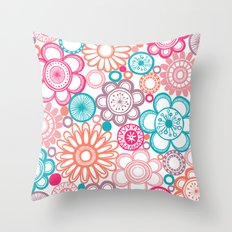 BOLD & BEAUTIFUL springtime Throw Pillow