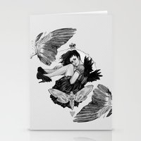Queen of Wings Stationery Cards